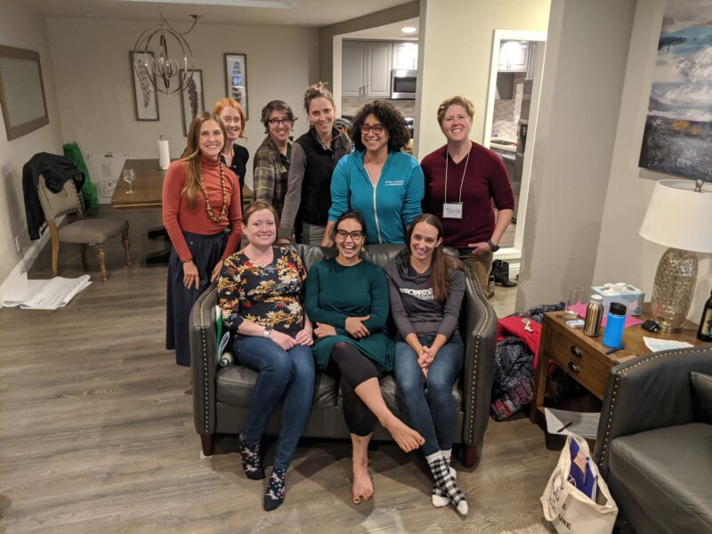 Center for Diversity and the Environment with the CARCD team